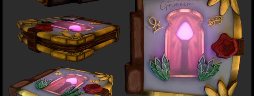 Grimoire - Advanced Book of Spells 1