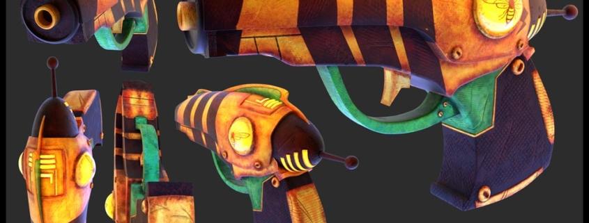 Bounty Hunter Pistol 1
