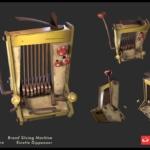 Bread Slicking Machine 3