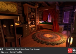 Joseph Blaz Church dorm Room Final Concept 45