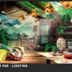 Hue's Batcholr Pad - Lighting 2