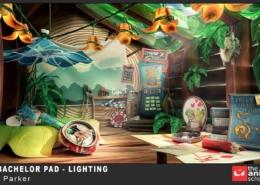 Hue's Batcholr Pad - Lighting 39