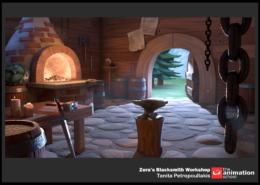 Zera's Blacksmith Workshop 38