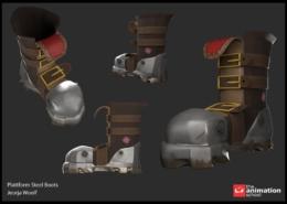 Plattform Steel Boots 3
